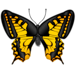 yellow-butterfly-icon-29184